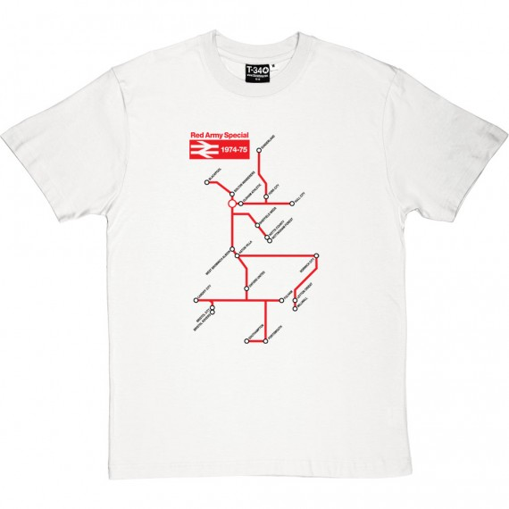 Red Army British Rail Special T-Shirt