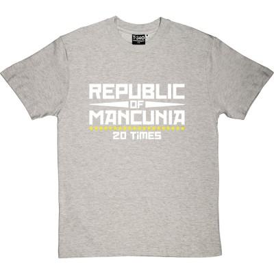 """Republic of Mancunia """"20 Times"""""""
