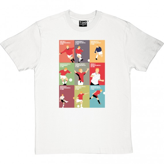 "Paul Scholes ""9 Goals"" T-Shirt"