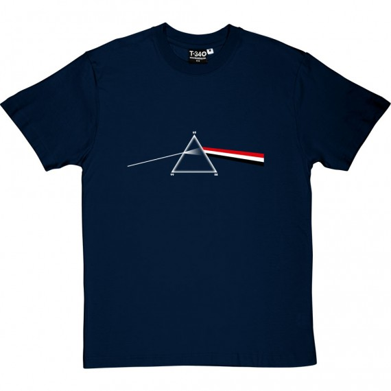 The Red White and Black Side of the Moon T-Shirt