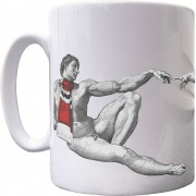 Touched By God Ceramic Mug