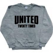 United: Twenty Times T-Shirt