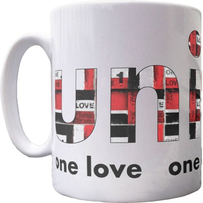 One Love, One Heart, One Soul Ceramic Mug