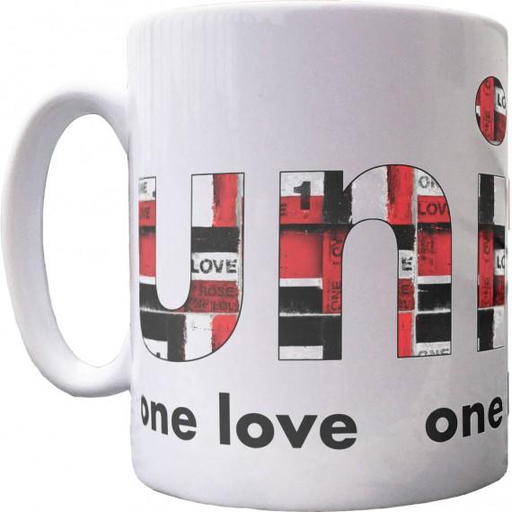 One Love, One Heart, One Soul Ceramic Mug