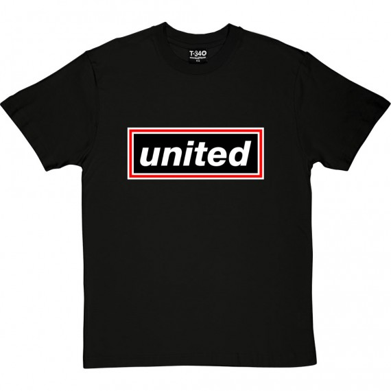 United Rectangle (Red, White and Black) T-Shirt