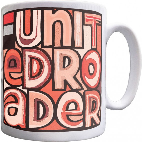 United Roader (Red, White and Black) Ceramic Mug