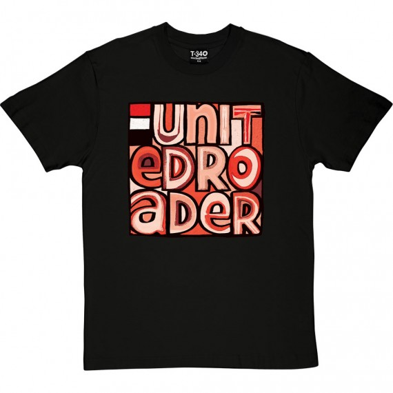 United Roader (Red, White and Black) T-Shirt