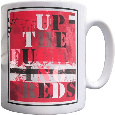 UTFR - Red, White and Black Ceramic Mug