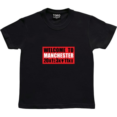 Welcome To Manchester Trophies