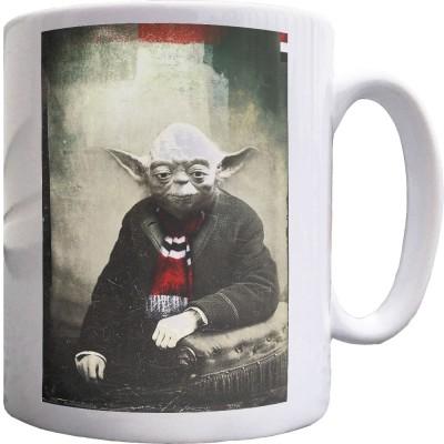 Yoda Barscarf Ceramic Mug