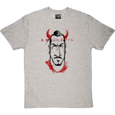 "Zlatan ""Red Devil"" Caricature"