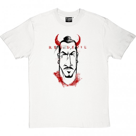 "Zlatan ""Red Devil"" Caricature T-Shirt"
