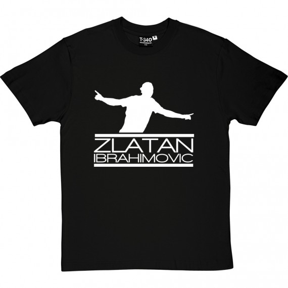 Zlatan Ibrahimovic Silhouette T-Shirt
