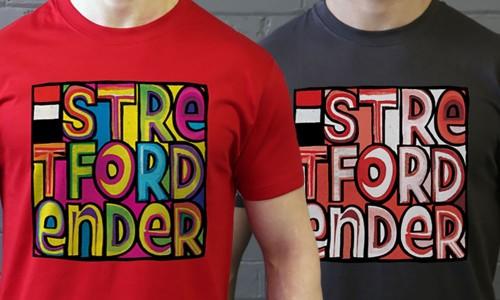 Hallelujah: New Stretford Ender T-Shirts from TShirtsUnited.com