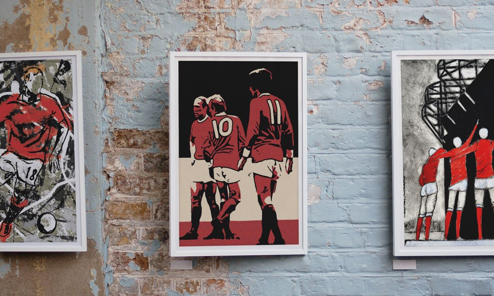 Love United: Love Your Walls - New 100% MUFC Wall Art