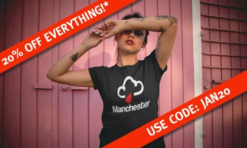 JANUARY SALE PART IV: 20% Off EVERYTHING On Site With Code JAN20
