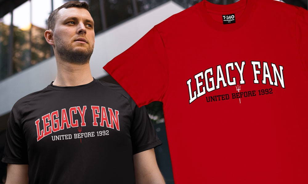 Against Modern Football: T-Shirts For Legacy Fans