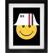 1983 Smiley Art Print