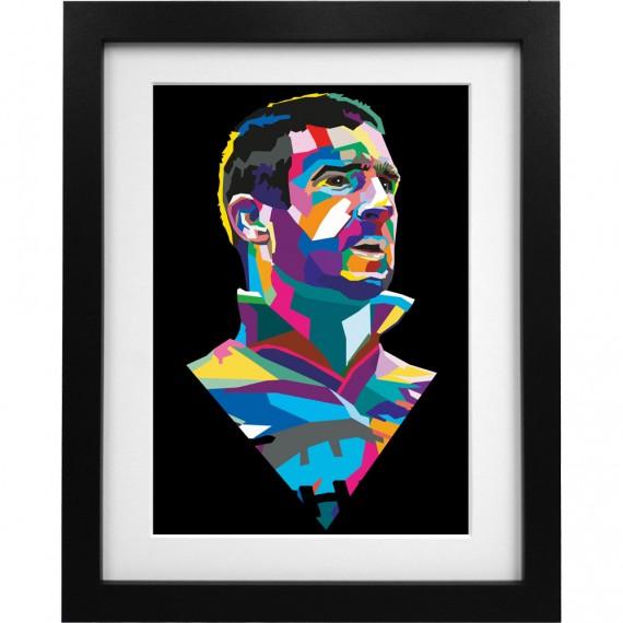 Cantona Colour Block Art Print