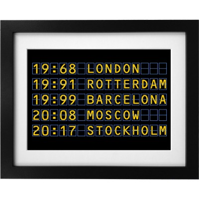 European Finals Departures Art Print