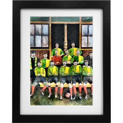 Newton Heath 1892-93 Art Print